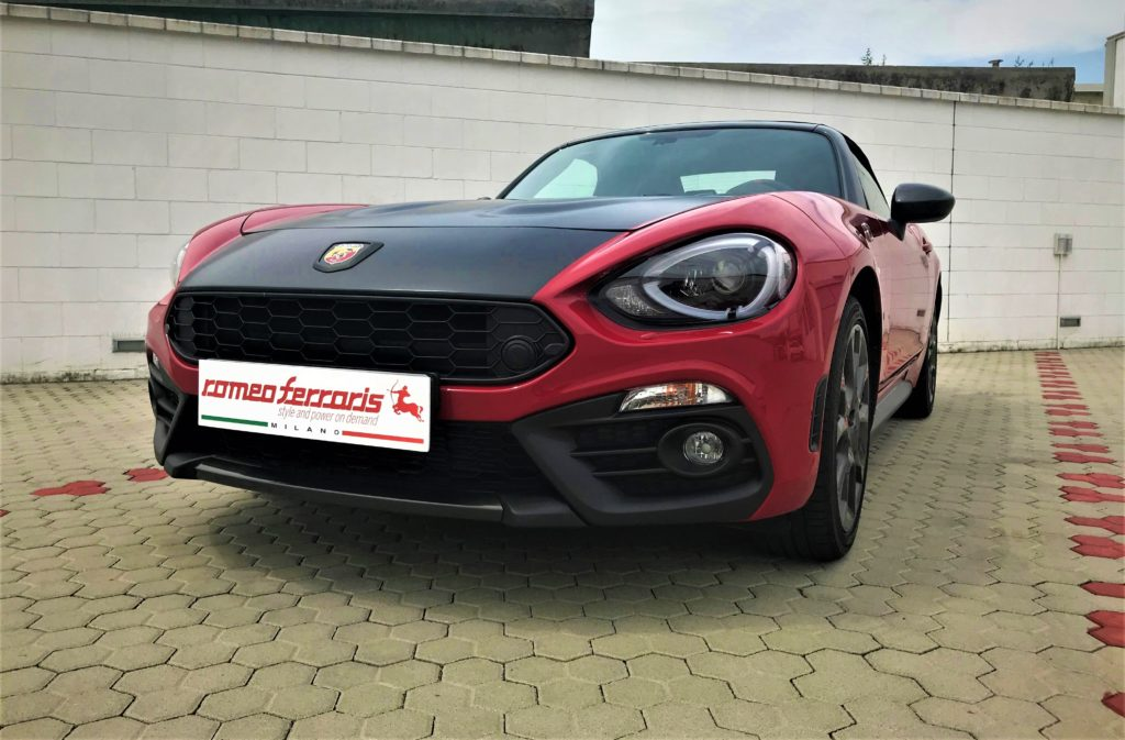 Abarth 124 Spider by Romeo Ferraris