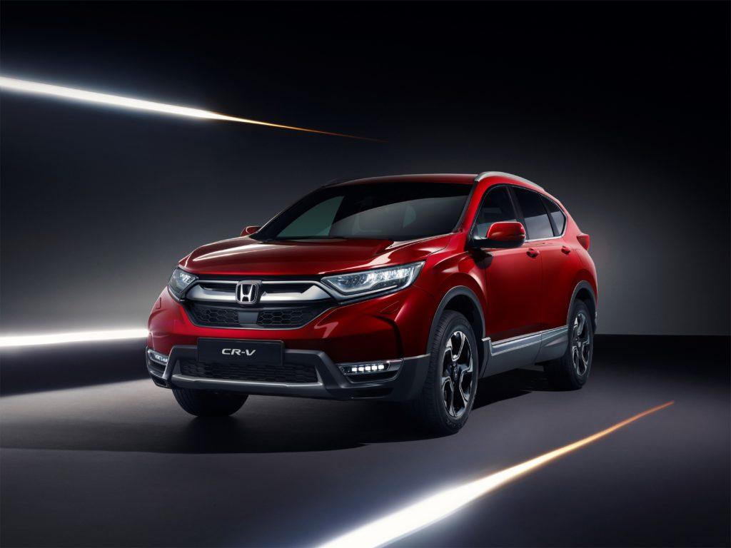 Honda CR-V: anteprima nazionale del nuovo modello al Parco Valentino 2018