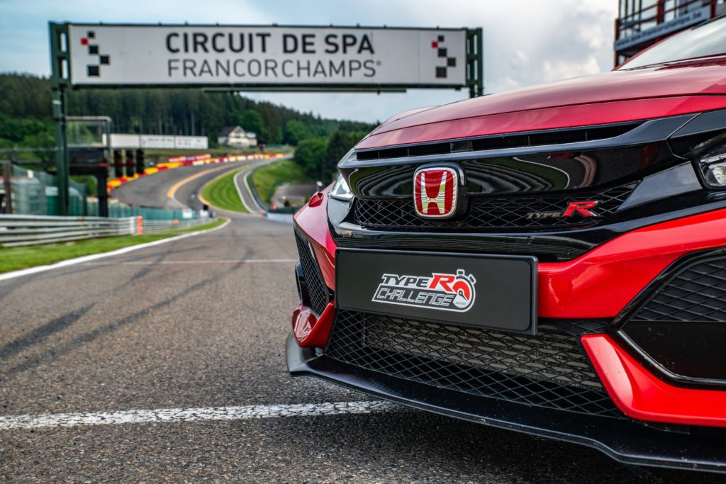 Honda Civic Type R: record sul giro a Spa-Francorchamps