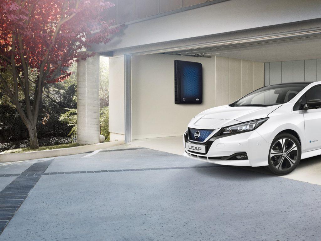 Nissan vince il Climate Solutions Award per le sue innovative tecnologie energetiche