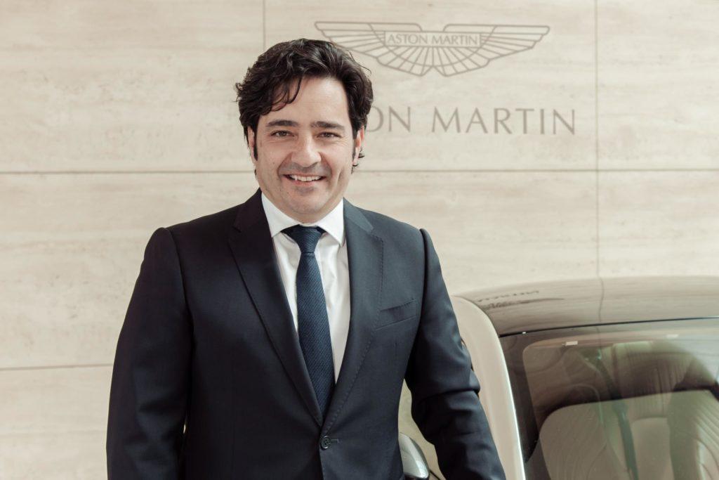 Aston Martin: Enrique Lorenzana è il nuovo Direttore Vendite Europa