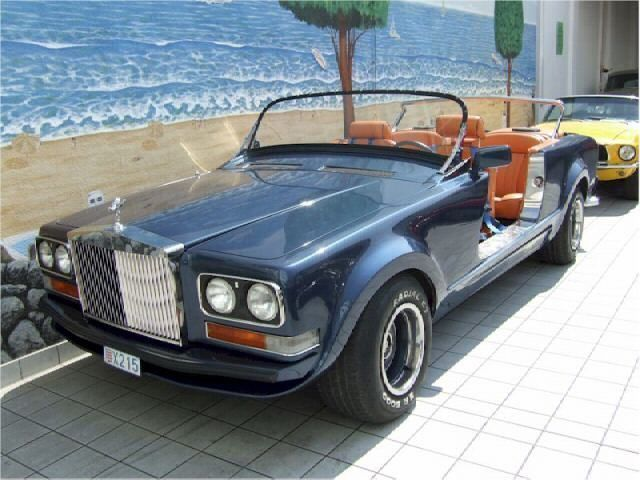 Rolls-Royce Camargue Custom Falconry Sporting Vehicle (1978)