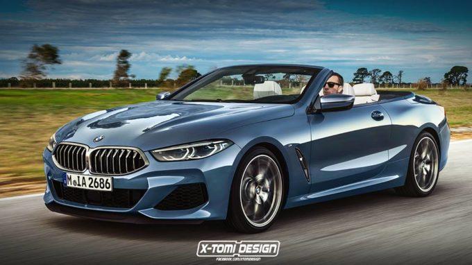 Nuova BMW Serie 8: una Cabrio per la bella stagione [RENDERING]