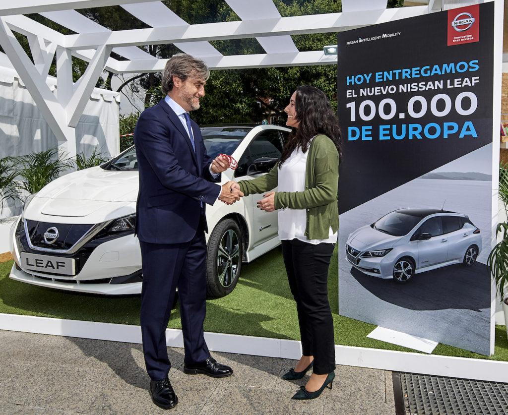 Nissan LEAF: ben 100.000 unità vendute in Europa