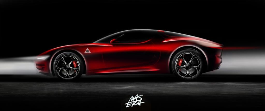 Alfa Romeo 8C: una nuova ipotesi della futura sportiva [RENDERING]