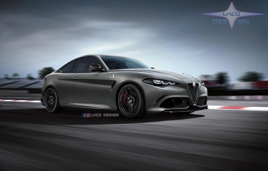 Alfa Romeo GTV: una nuova ipotesi basata sull'anticipazione del marchio [RENDERING]