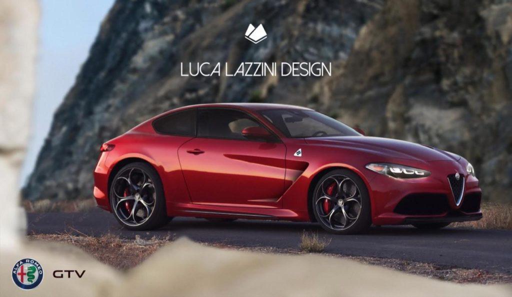 Alfa Romeo Gtv Su Base Giulia Per Oltre 600 Cv Rendering
