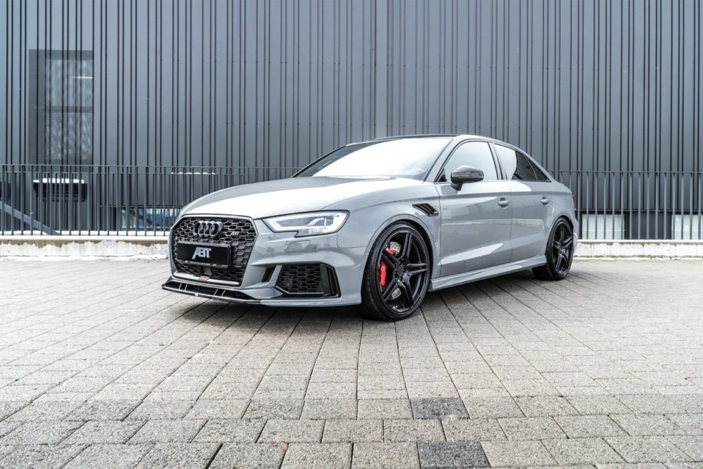 Audi RS3 Sedan by ABT: più cattiveria con 500 CV