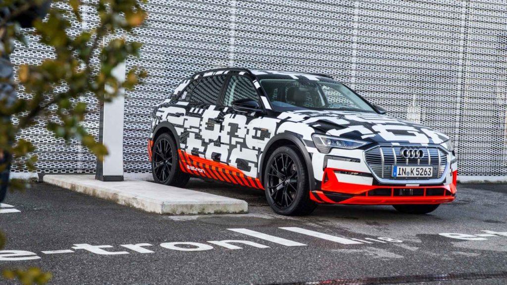 Audi e-tron: si collegherà senza problemi alla rete domestica