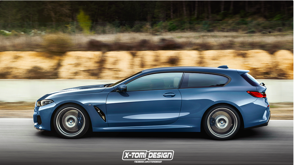 BMW Serie 8 Rendering X-Tomi Design