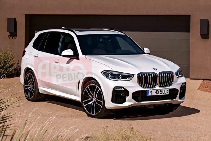 Nuova BMW X5: è lei in queste foto?