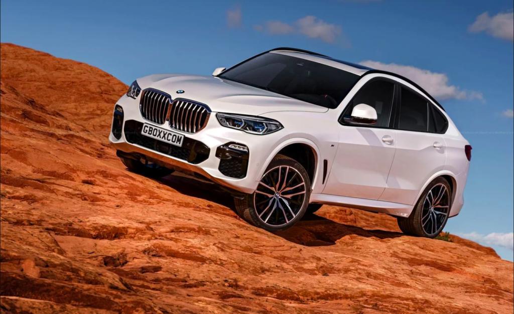 BMW X6 2020 Rendering