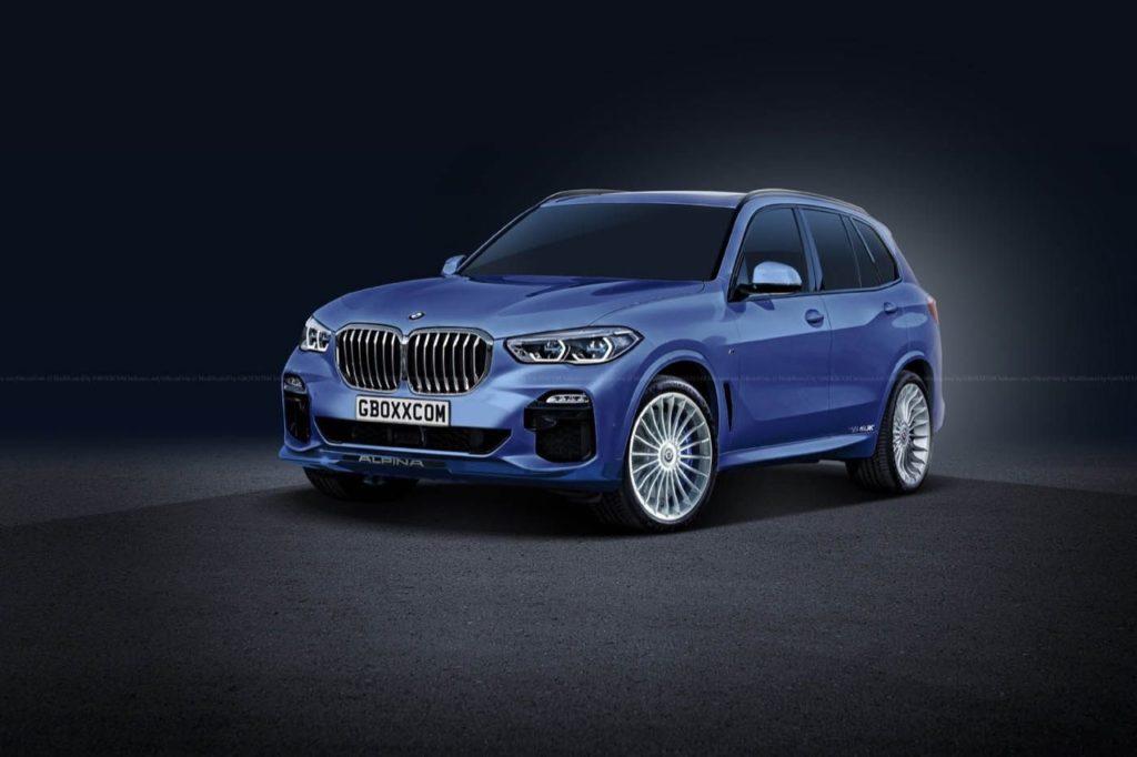 Nuova Alpina XD5: basata sull'X5 MY 2019, sarà una regina delle Autobahn [RENDERING]