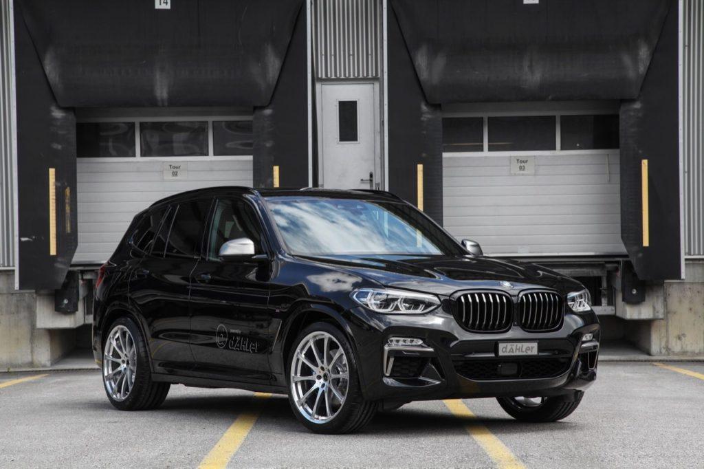 BMW X3 2018: arriva la preparazione di Dahler da 420 CV