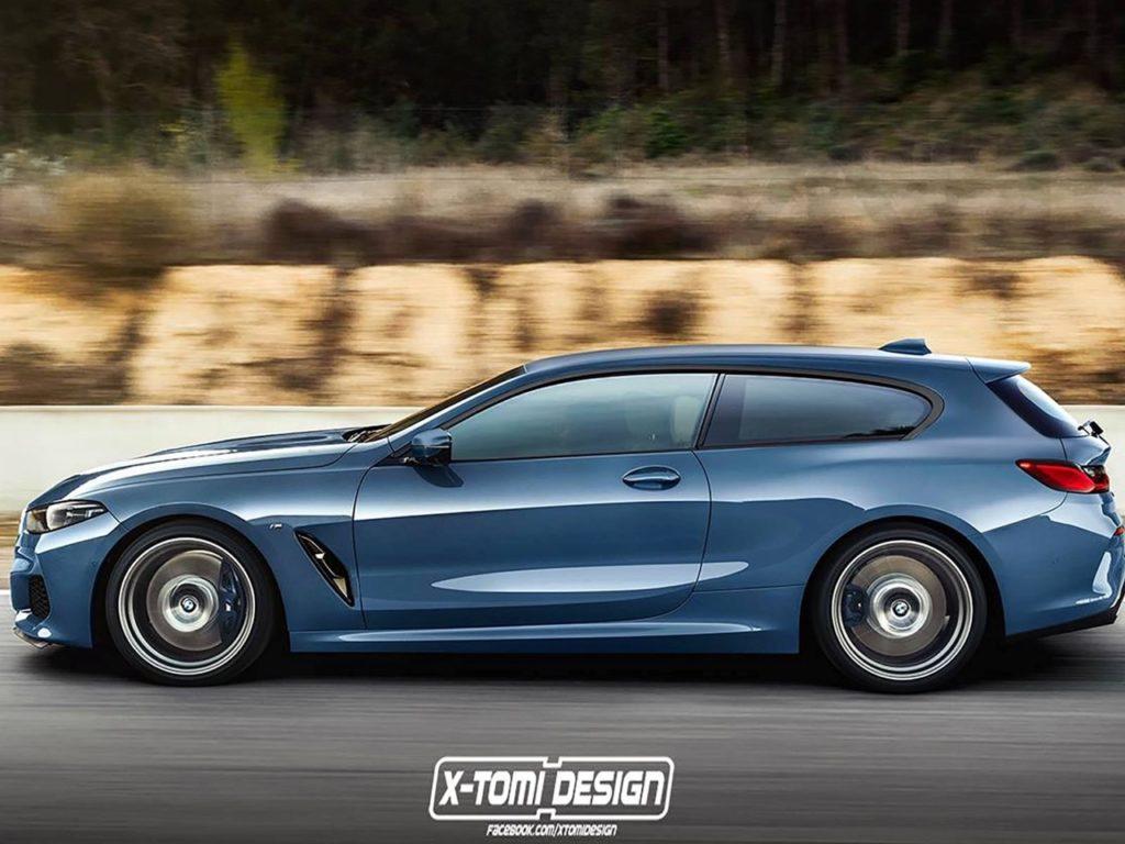 BMW Serie 8: l'ipotesi stilistica di una Shooting Brake [RENDERING]