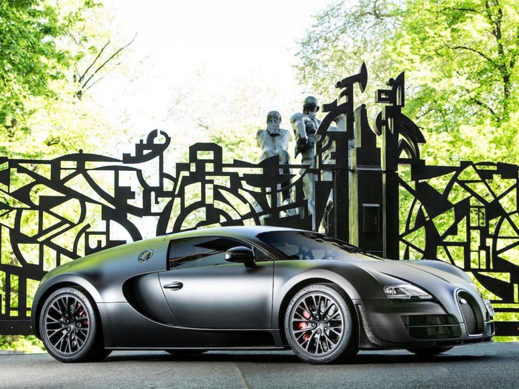 Bugatty Veyron SS: l'ultimo esemplare è in attesa del futuro proprietario