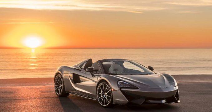 McLaren ha donato un'esclusiva 570S Spider alla Elton John AIDS Foundation