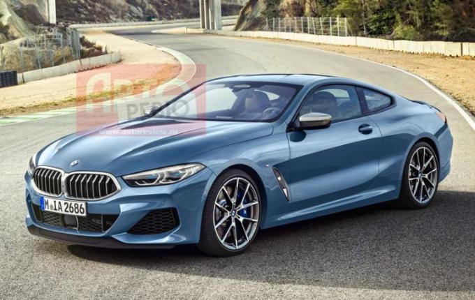 Nuova BMW Serie 8: le prime immagini sfuggono online [FOTO LEAKED]