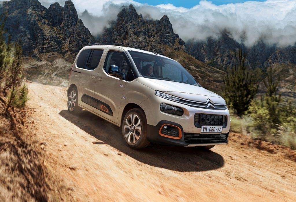 Citroen Berlingo è ordinabile in Italia da 20.350 euro