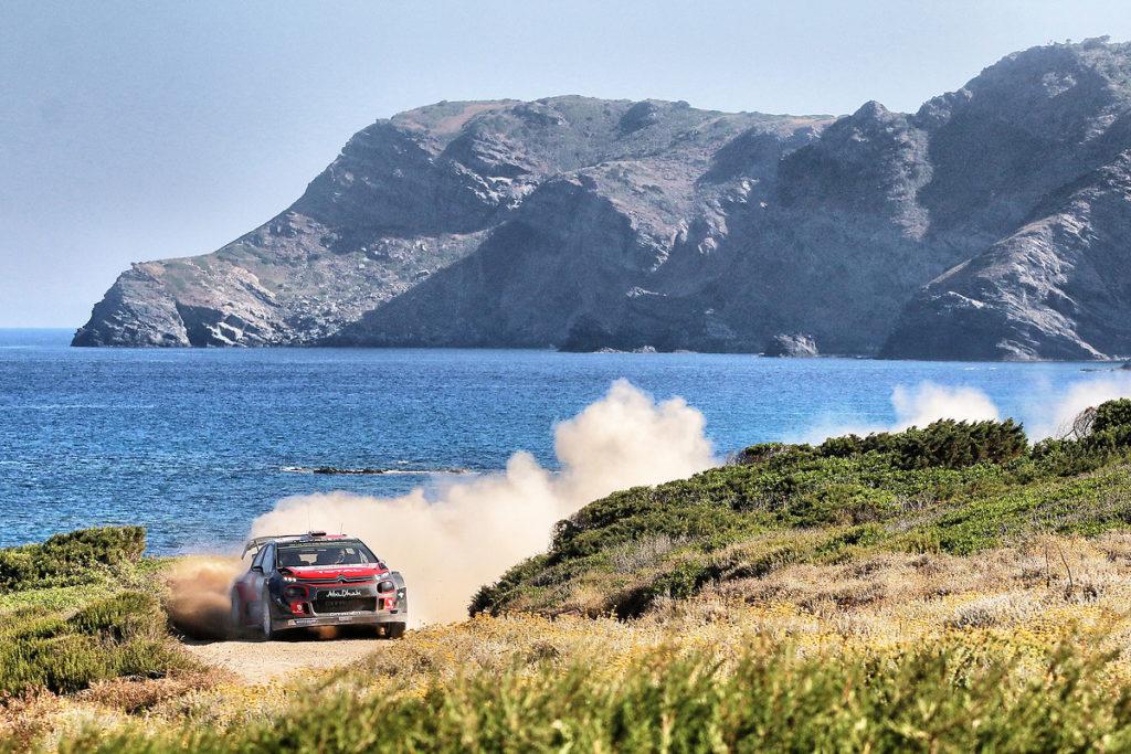 Citroen C3 WRC: nel mirino la sfida del Rally di Sardegna