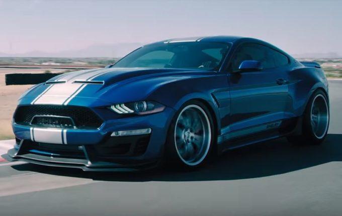 Nuova Ford Mustang Shelby Super Snake, bolide da 800 CV [VIDEO]