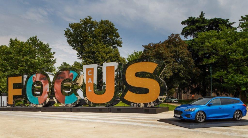 Ford Focus Letters Experience: l'installazione interattiva nel Parco Sempione a Milano