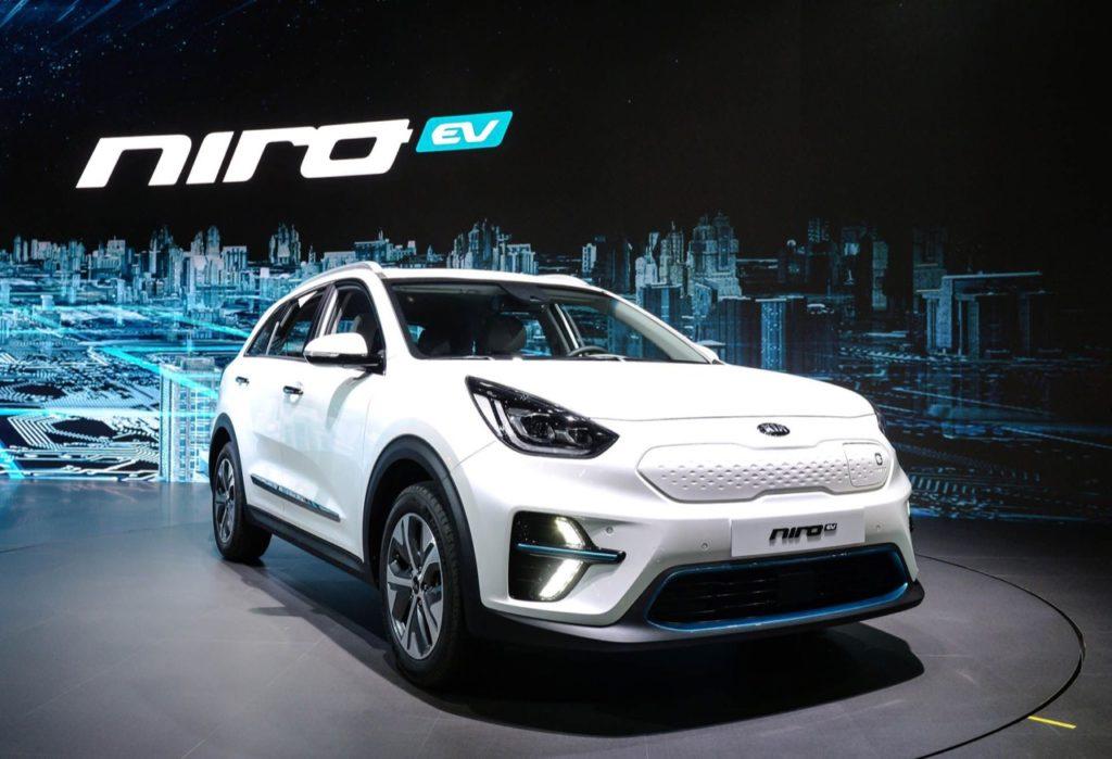Kia Niro EV: al debutto in Corea del Sud la variante totalmente elettrica