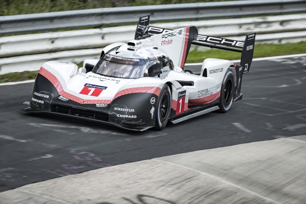 Michelin ha firmato il record della Porsche 919 Hybrid Evo al Nurburgring