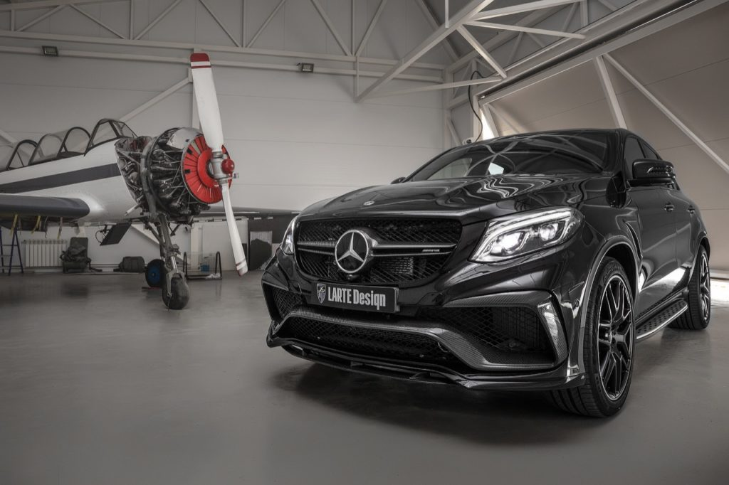 Mercedes-AMG GLE Coupè 63 S: ancora più aggressivo con il bodykit Larte Design