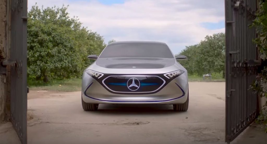 "Mercedes EQA Concept: il tour ""full electric"" della Sicilia [VIDEO]"