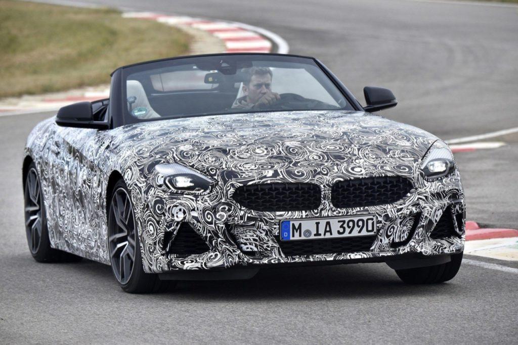 Nuova BMW Z4: sarà prodotta in Austria da Magna Steyr verso fine 2018