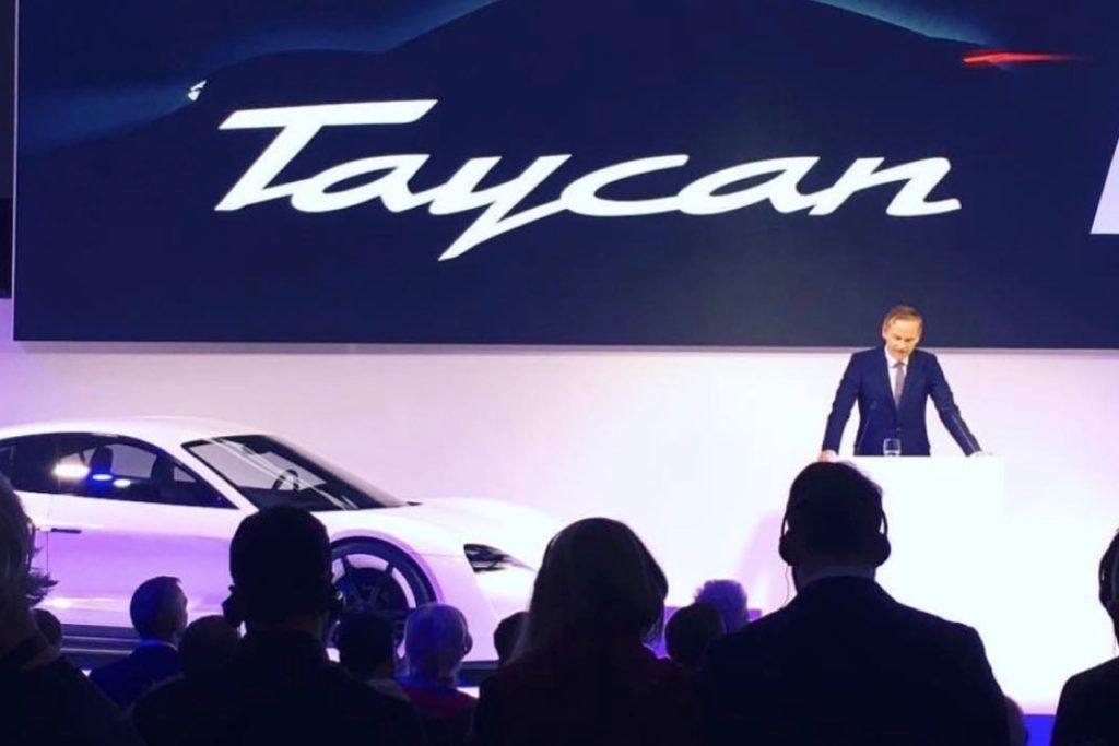 Nuova Porsche Taycan: questo il nome della prima Full Electric di Stoccarda