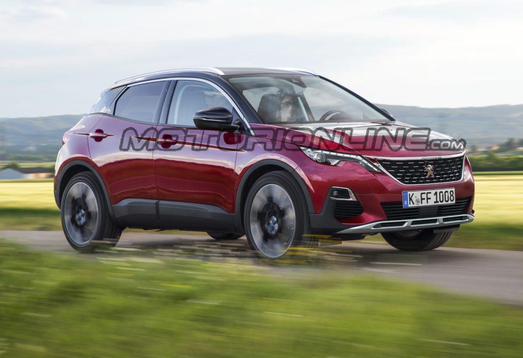 Peugeot 1008: idea stilistica del futuro crossover compatto [RENDERING]