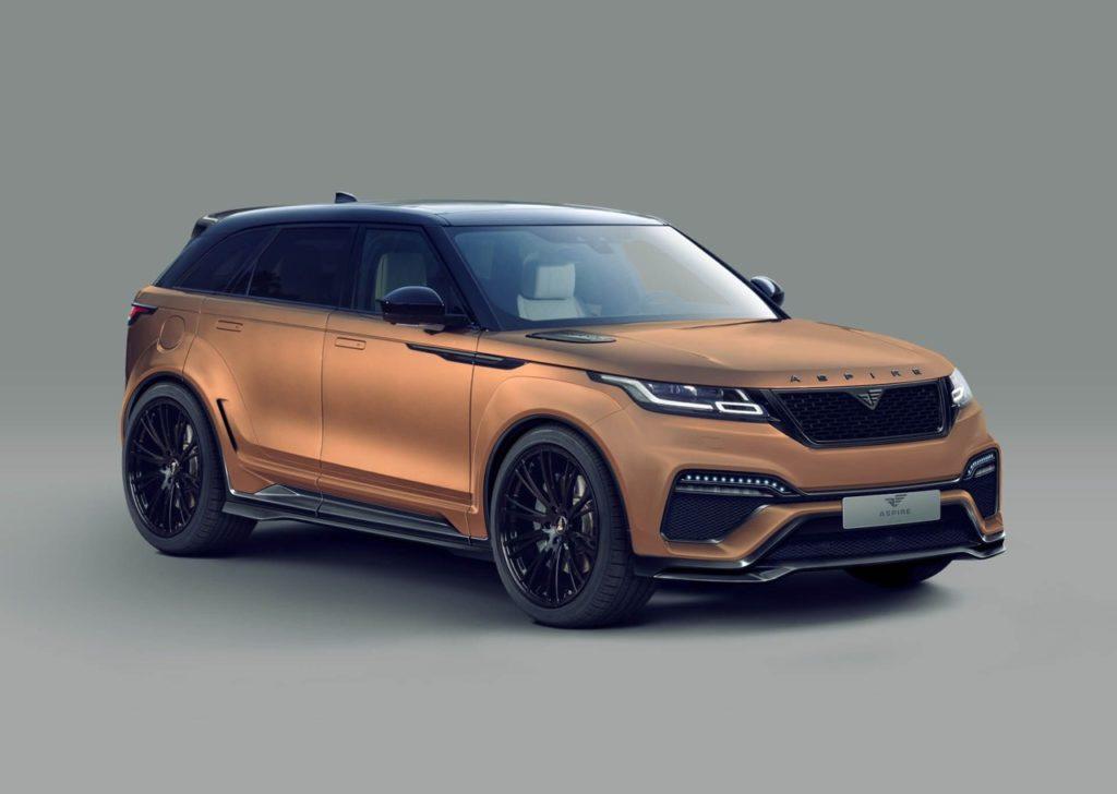 Range Rover Velar: ancora più possente con il bodykit di Aspire Design [RENDERING]
