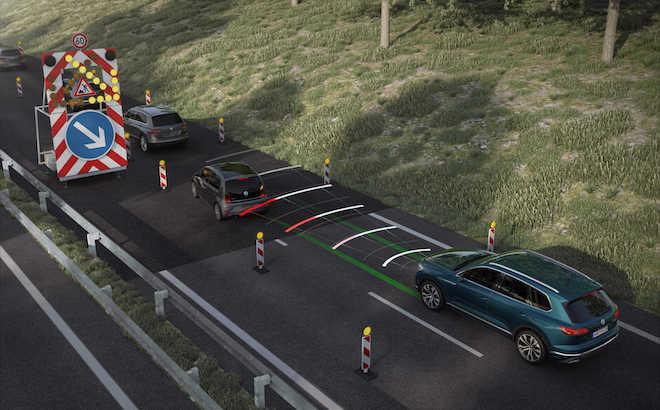 Volkswagen Touareg: il Traffic Jam Assist per anticipare la guida autonoma