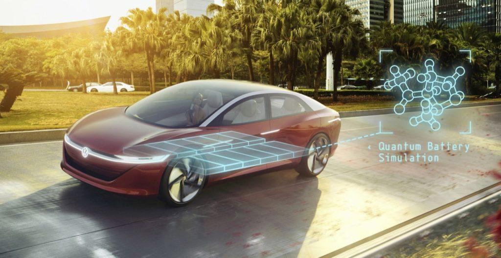 Veicoli elettrici Volkswagen: i computer quantistici aiutano nello sviluppo delle batterie