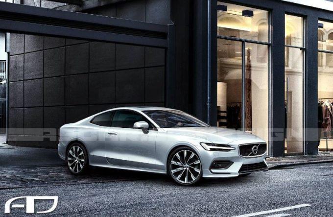 Volvo S60, la nuova berlina ipotizzata in versione coupé e cabrio [RENDERING]