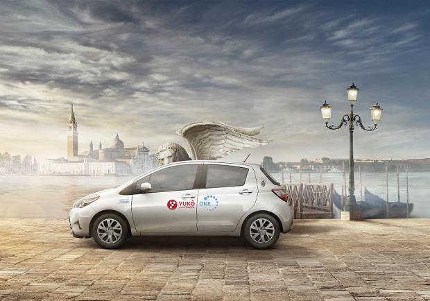 YUKO with Toyota: il car-sharing full hybrid sbarca a Venezia