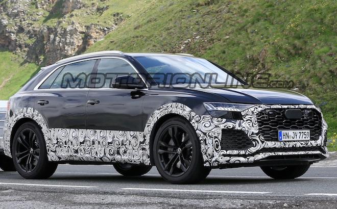 Audi RS Q8: potrebbe venir spinta da un motore ibrido da 670 cavalli