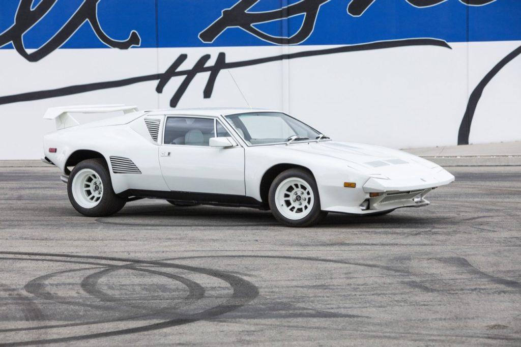 De Tomaso Pantera: battuta all'asta per 226 mila dollari e senza motore