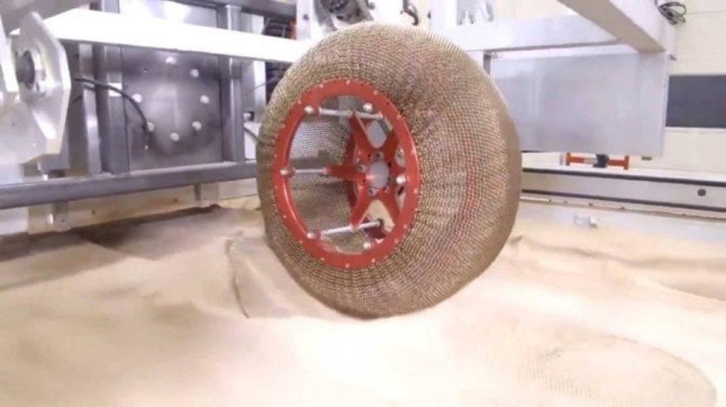 """NASA: al via i test su strada della ruota """"spaziale"""""""