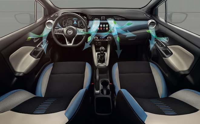 Nissan: nuovi filtri per migliorare l'aria nell'abitacolo