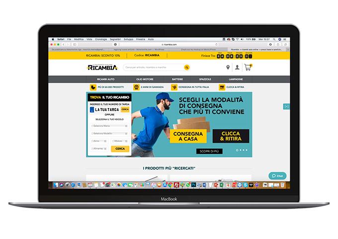 Ricambia: l'e-commerce per i ricambi auto facile e veloce