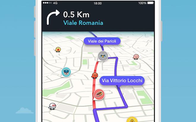 Waze: come usarlo per evitare traffico e rallentamenti