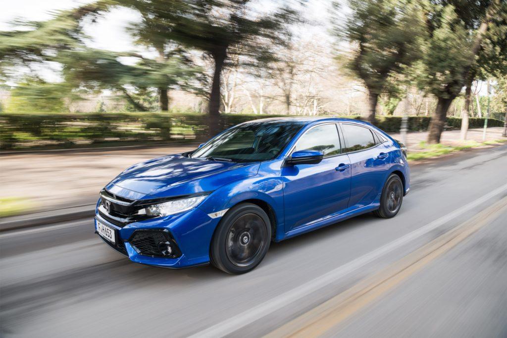 Honda Civic: arriva il cambio automatico a 9 marce