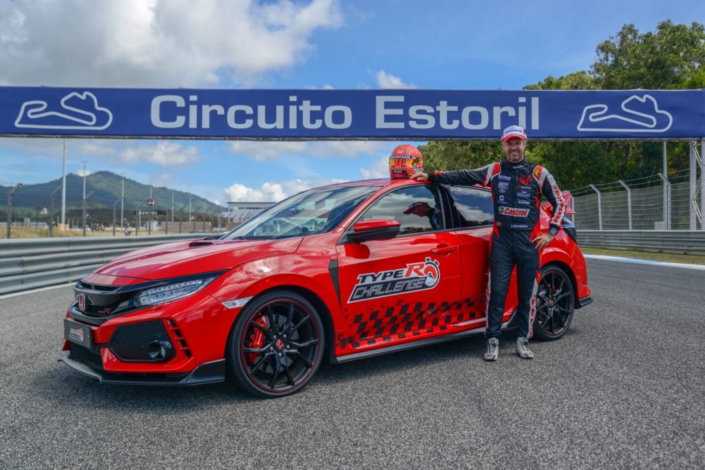 Honda Civic Type R record Estoril