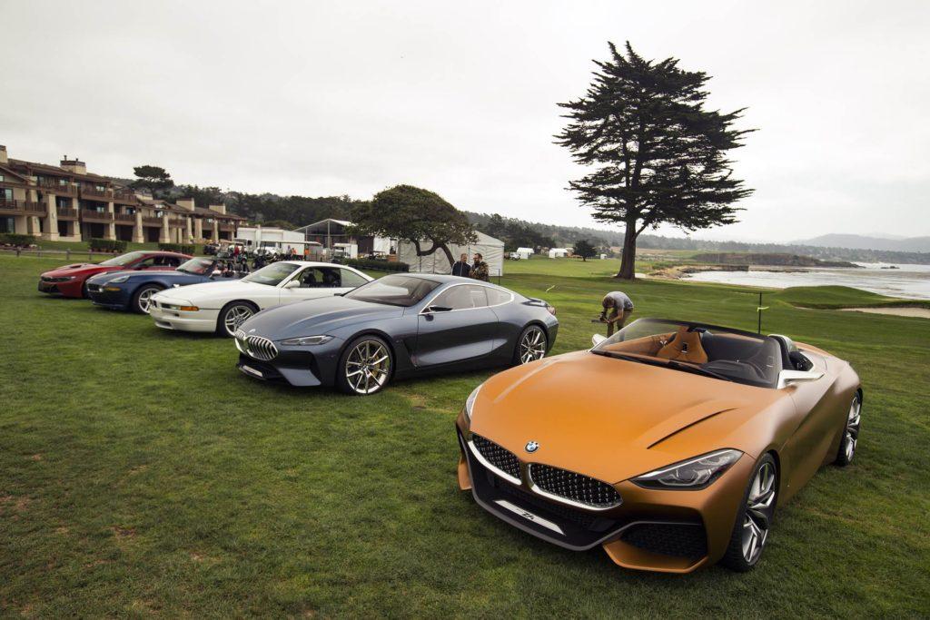 BMW: una nuova vettura emozionale sarà svelata a Pebble Beach