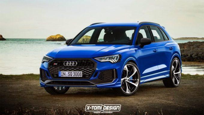 Audi RS Q3: la versione sportiva potrebbe essere così [RENDERING]