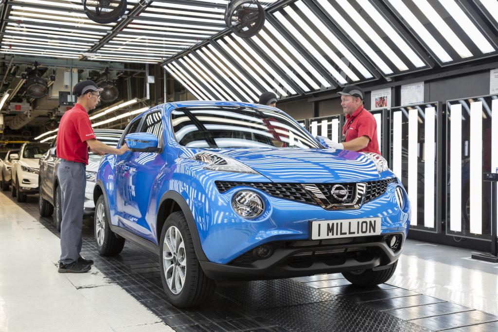 Nissan Juke: prodotto il milionesimo esemplare