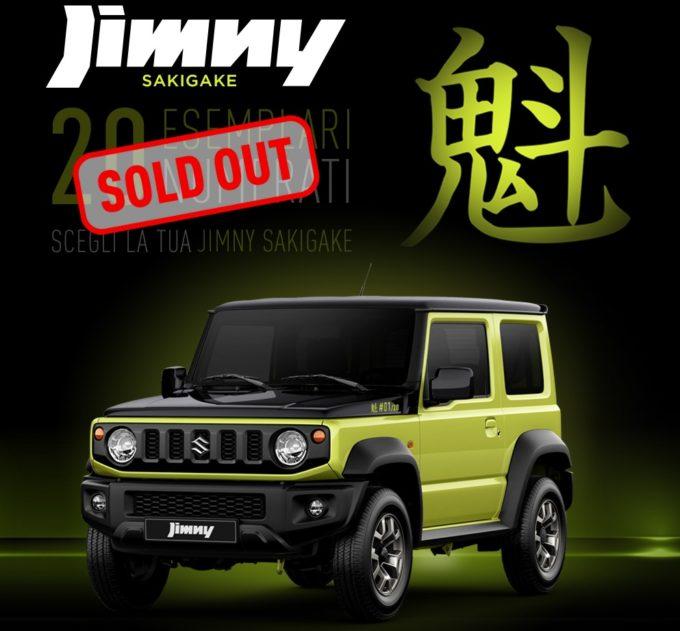 Suzuki Jimny Sakigake: già tutti venduti i 20 esemplari della serie speciale